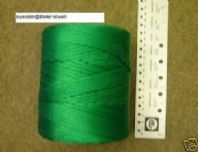 GREEN BRAID CORD 3MM diam x 270metres  twine FREE UK postage
